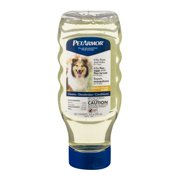 PetArmor Plus Flea and Tick Removal Shampoo For Dogs Hawaiian Ginger Scent, 18 Fl oz