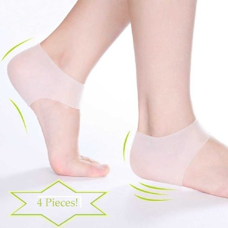 Plantar Fasciitis Heel Sock Arch Pad  Pedidoc Foot Care  Moisturizing Compression Sleeve Cushion  Ease Swelling  Sore Feet  Spurs   Cracked Heels  Pain Relief Gel    By Pedidoctm