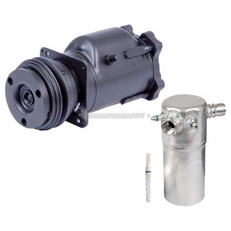 OEM AC Compressor w/ A/C Repair Kit For Buick Electra LeSabre Estate (Buick Lesabre Estate Wagon)