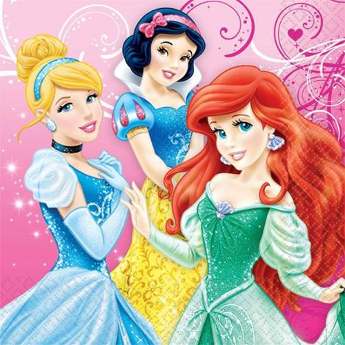 Disney Princess Luncheon Napkins (16 Pack) - Party Supplies