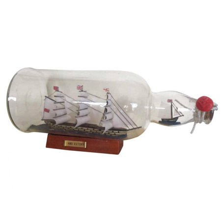 Hms Victory Gift Set - HMS Victory Ship in a Bottle 11