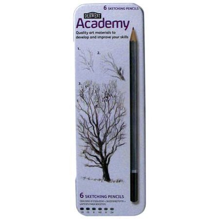 Derwent - Academy Sketching Pencil Set - 12-Pencil Pod Set
