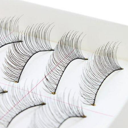 AGPtEK Handmade Natural Fashion Long False Eyelashes For Makeup (10 (Eyelashes Makeup)