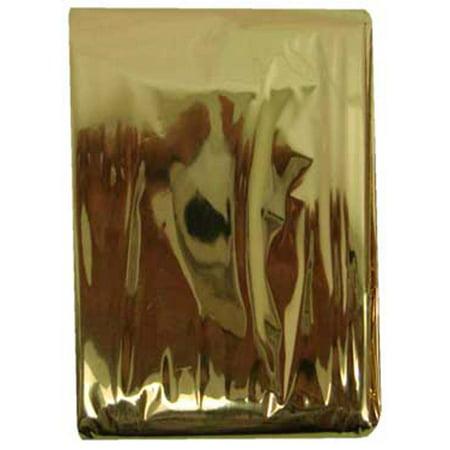 Gold Color Emergency Blanket : ( Pack of  2 Pcs.)  (Hawk: TC-50503-Z02)
