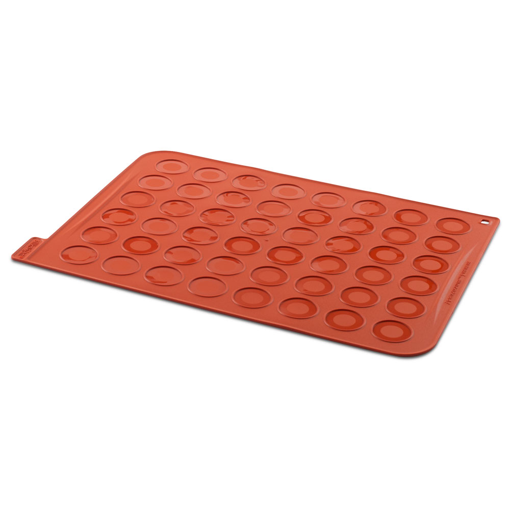 Silikomart Silicone Macaron Baking Sheet, 48 Forms