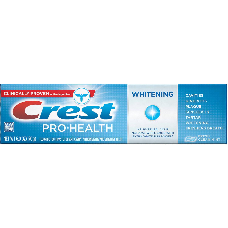Crest Pro-Health Whitening Fresh Clean Mint Toothpaste, 6 oz