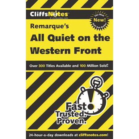 CliffsNotes on Remarque's All Quiet on the Western Front -