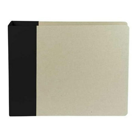 AMC Album 12x12 Modern D Ring Black