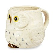 Owl Ceramic Mug (Snow)