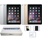 Refurbished Apple iPad Air 1st Gen. OR 2nd Gen. 16GB, 32GB, 64GB, 128GB, Wi-Fi Only, All Colors: Space Gray, Silver, Gold, Includes Bundle, and Free 2-Day Shipping