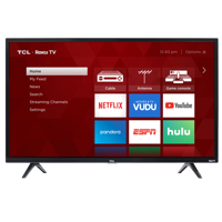 "Refurbished TCL 49""€ Class HD (1080P) Roku Smart LED TV (49S325)"