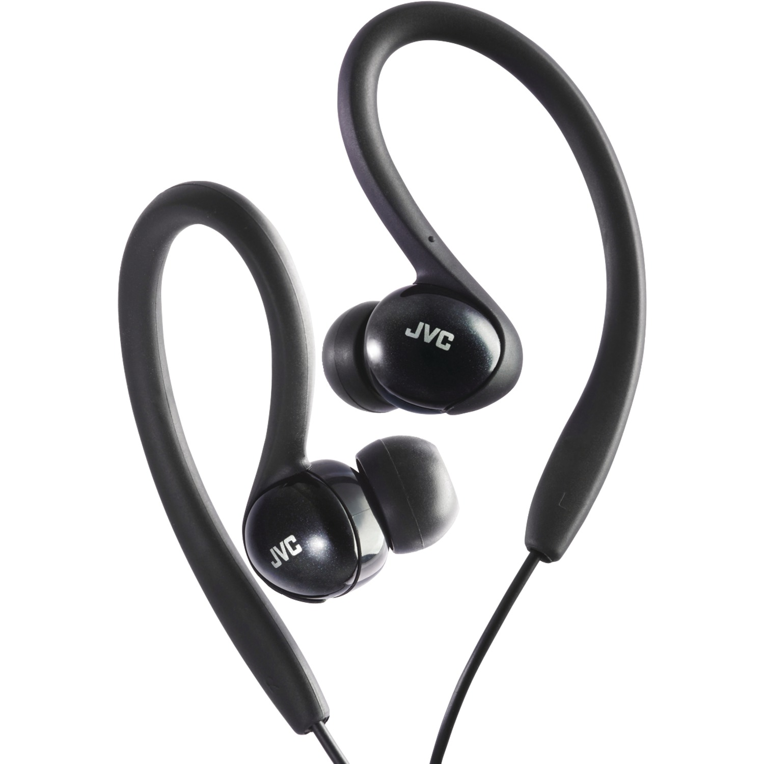 JVC HA-EBX5-B Sport Ear-Clip Headphones (Black)