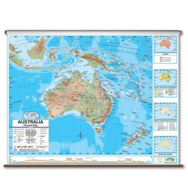 Universal Map 27972 Advanced Physicalical Map