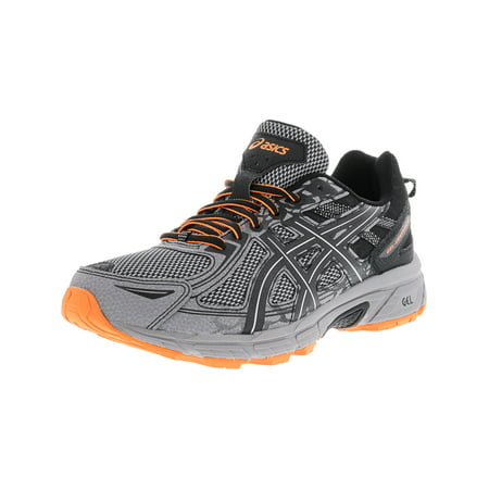 Mens Running Shoes Uk - Asics Men's Gel-Venture 6 Frost Grey / Phantom Black Ankle-High Running Shoe - 11.5M