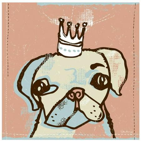 Pug Dog, The Top Dog by Eazl Fine Art - Pug Dog Art