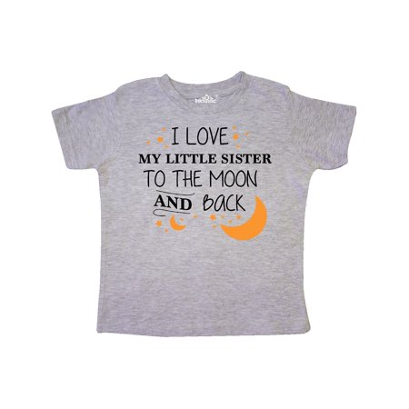 I Love My Little Sister To The Moon and Back Toddler T-Shirt