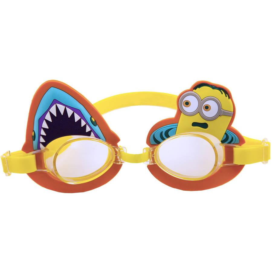 Despicable Me Minion Swim Goggle, Shark Fright! by AQUA LEISURE IND.