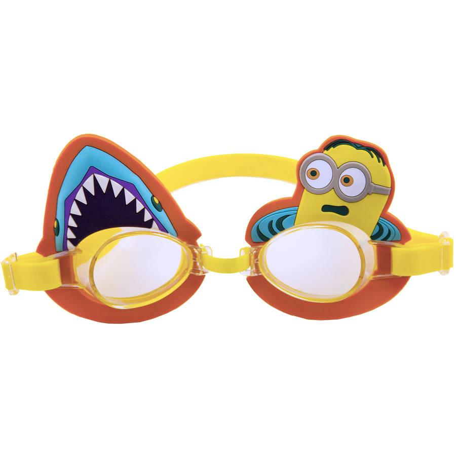 Despicable Me Minion Swim Goggle, Shark Fright!