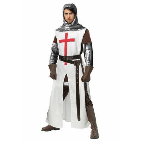 Men's Crusader Plus Size Costume - image 2 of 2