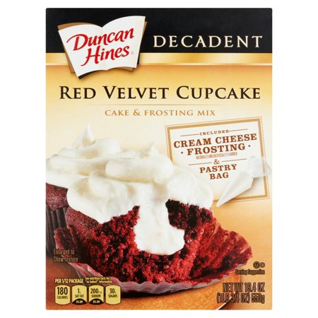 Duncan Hines Decadent Red Velvet Cake Mix