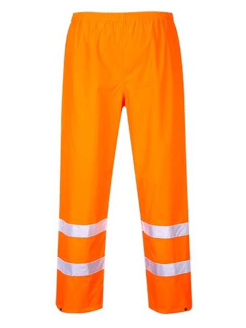 Portwest S480 2XL Hi-Visibility Waterproof Traffic Trouser, Yellow - Regular