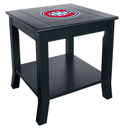 Imperial NHL Side Table - Montreal Canadiens