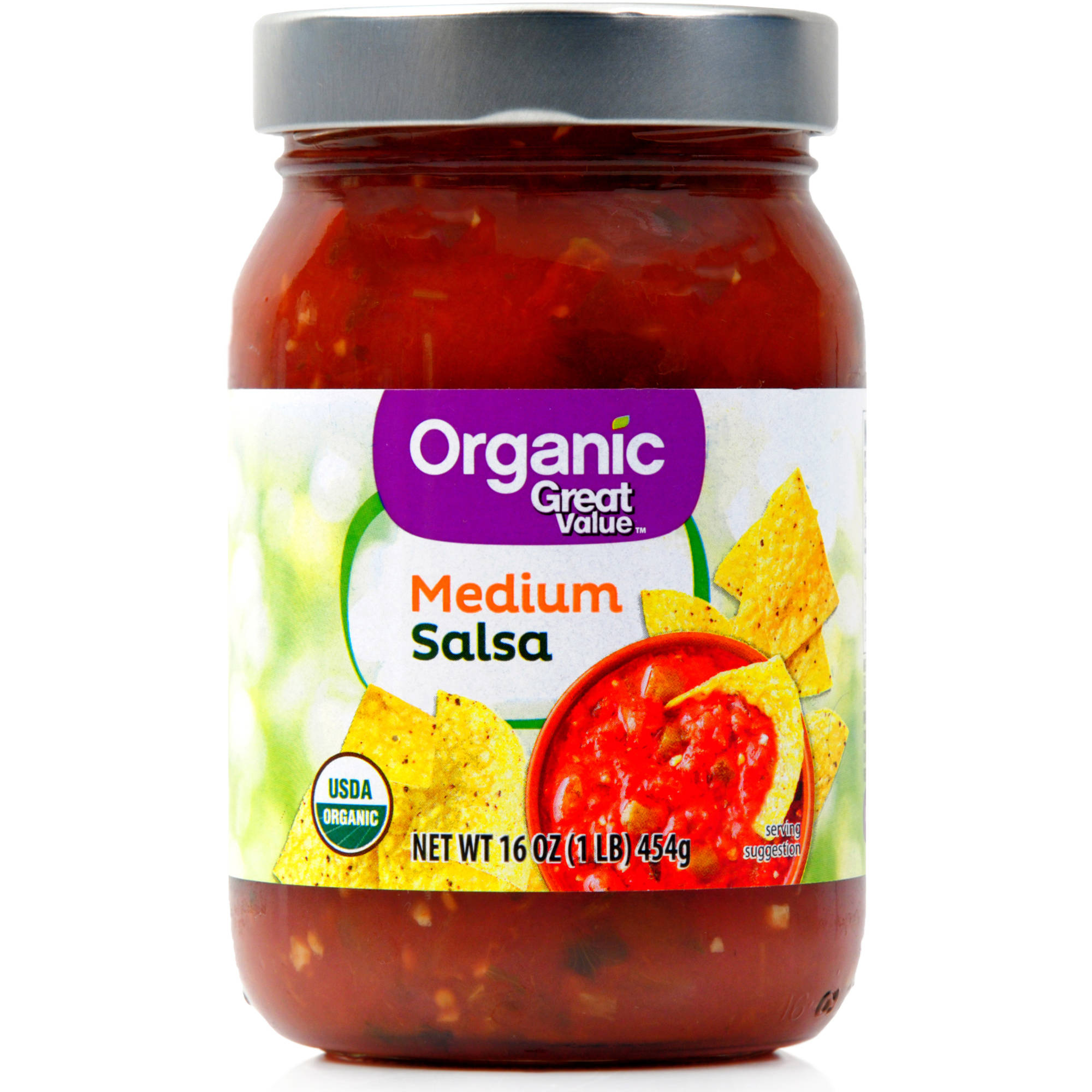 Great Value Organic Salsa Medium