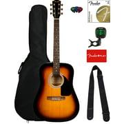 Fender FA-115 Dreadnought Acoustic Guitar - Sunburst w/ Gig Bag