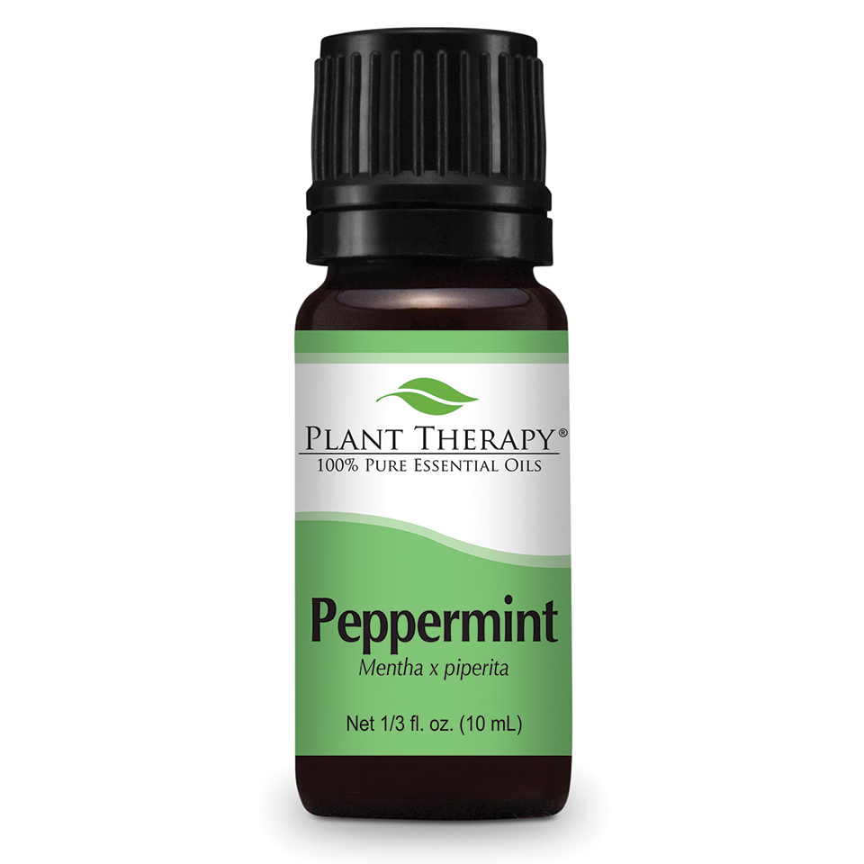 Plant Therapy Peppermint Essential Oil 10 mL (1/3 fl. oz.) 100% Pure, Undiluted, Therapeutic Grade