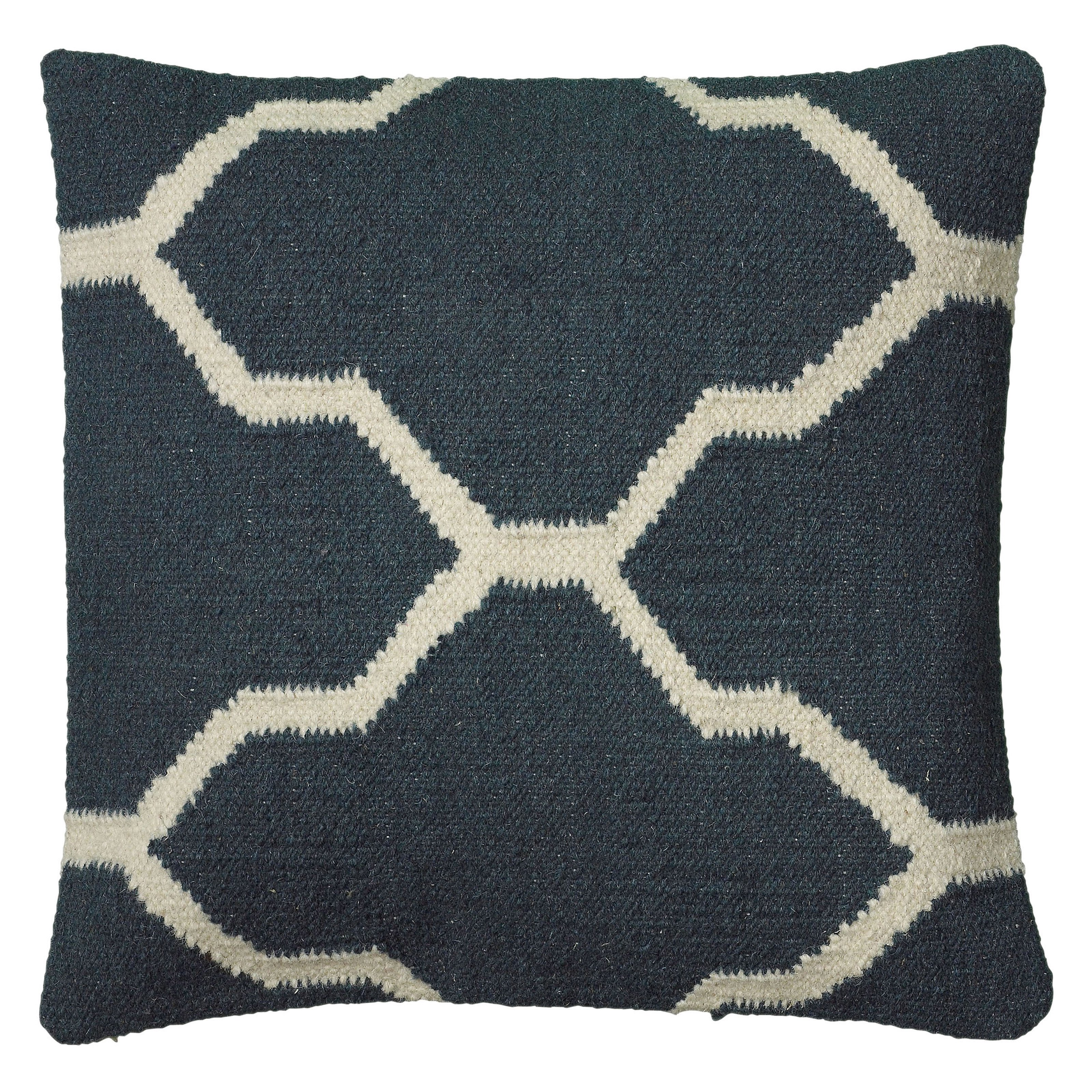 Rizzy Home Decorative Geometric Throw Pillow - 18W x 18H in.