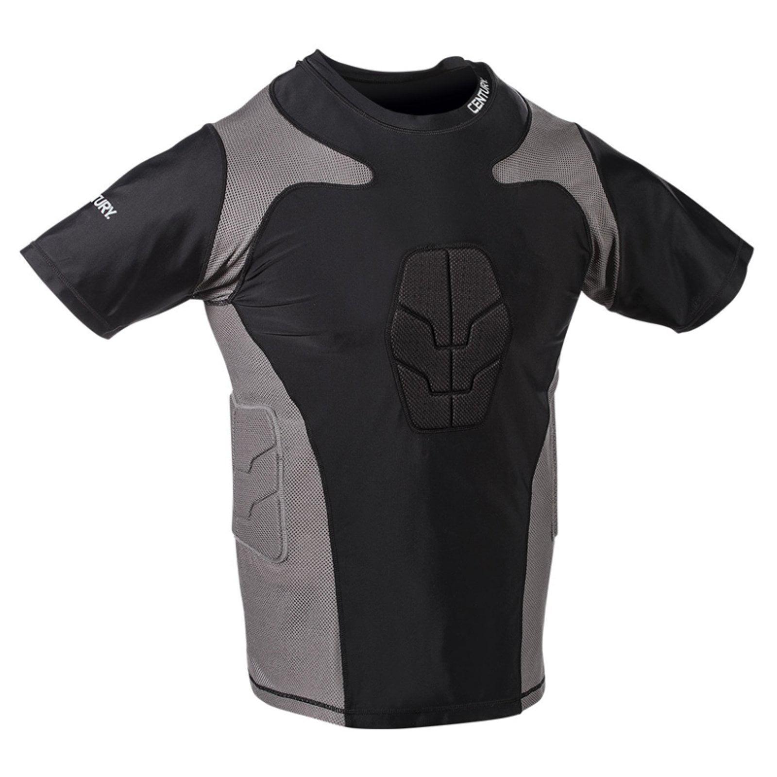 Century Short Sleeve Padded Youth Compression Shirt