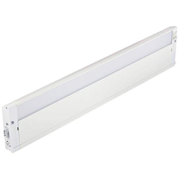 Kichler 4u Textured White 22 Wide Led Under Cabinet Light Walmart Com Walmart Com