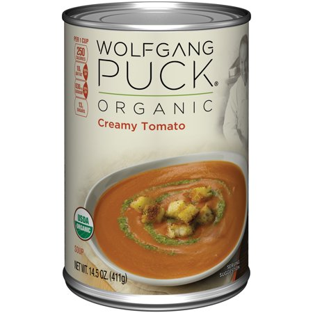 Wolfgang Puck Creamy Tomato Soup 14.5 Ounce