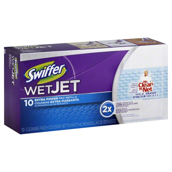 Swiffer WetJet Heavy Duty Mopping Pads 10 ct Box
