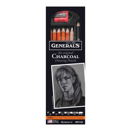 Pencil Charcoal Drawings - General Pencil The Original Charcoal Drawing Pencil Set