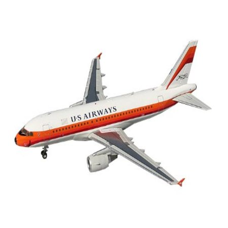 Gemini Jets US Airways A319 Die Cast Aircraft (PSA Heritage), 1:200 Scale