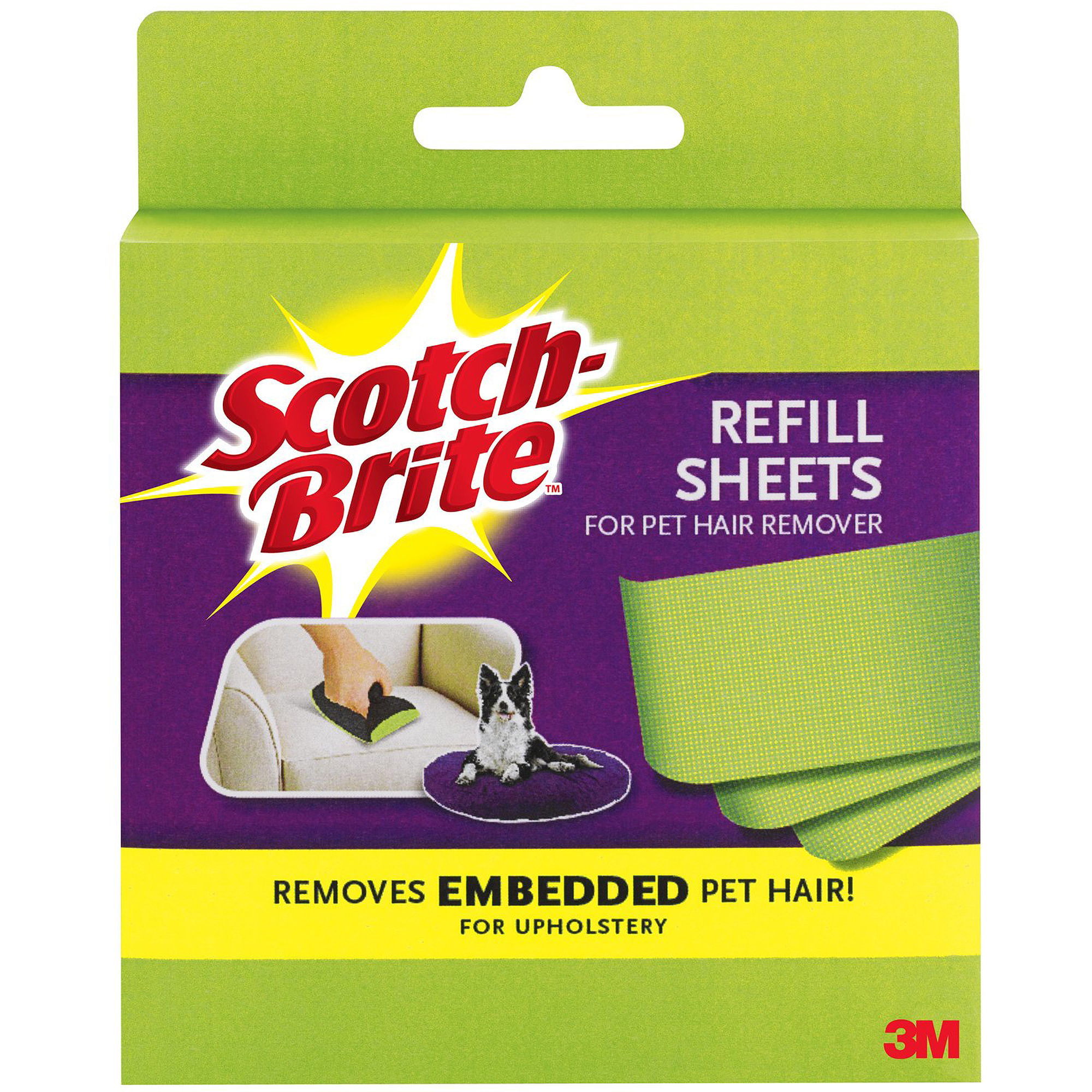 Scotch Fur Fighter Hair Remover Refill Sheets, 8 Refill Sheets