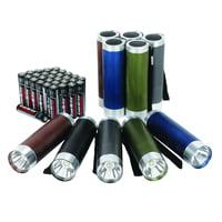 10-Pack Ozark Trail Aluminum Flashlight Set