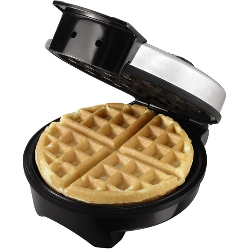 Oster 8-Inch Belgian Waffle Maker, Stainless Steel