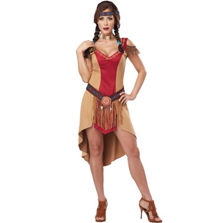 Native Beauty Adult Costume](Tan Firefighter Costume)