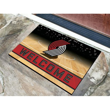 Trail Blazers Halloween (Portland Trail Blazers Crumb Rubber Door)
