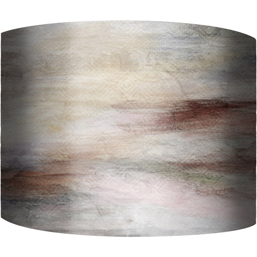 "12"" Drum Lamp Shade, Northern Lights"