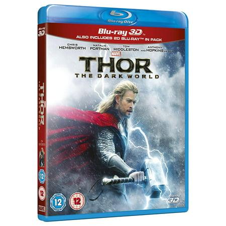 Thor: The Dark World (2013) 3D Blu Ray Region