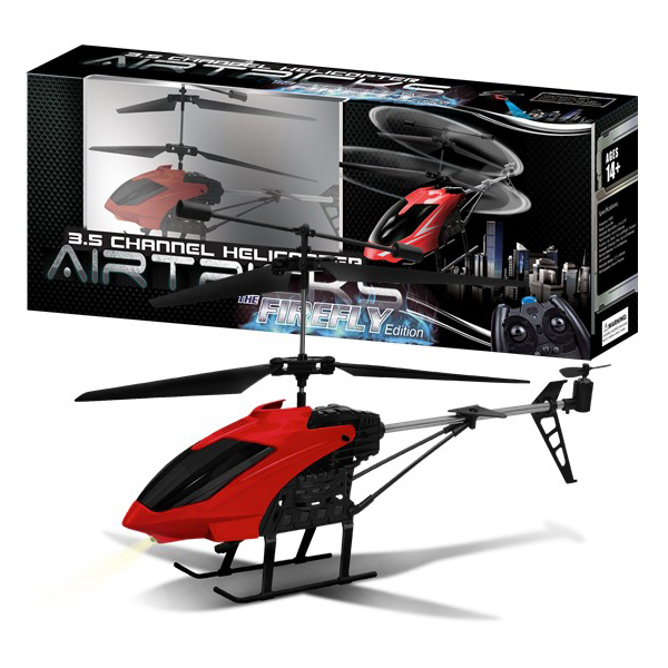 AWW Industries The Firefly Hobby Class 3.5ch Radio Control RC Helicopter Red by Aww Industries