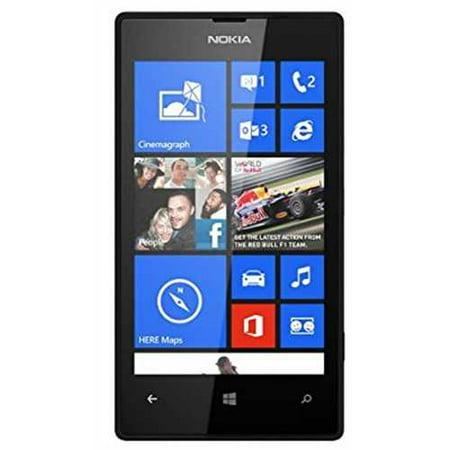 Refurbished Nokia Lumia 520 Gsm Unlock 3G Phone  4 Inch Touch Screen  5Mp 720P Camera  Windows Phone  Black