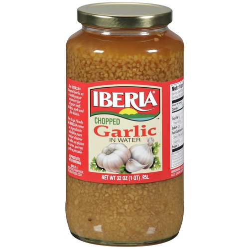 Iberia Chopped Garlic, 32 oz