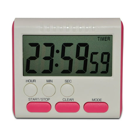 24 Hour Clock Timer (Holiday Clearance Digital Time Magnetic Large LCD Digital Kitchen Timer Alarm Count Up&Down Clock 24 Hours )
