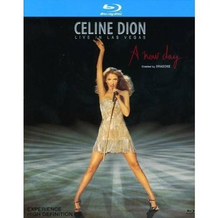 Celine Dion   New Day Live In Las Vegas  Blu Ray