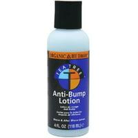 Organic Root Stimulator Tea Tree Oil Anti-Bump Lotion, 4 oz (Pack of 3)