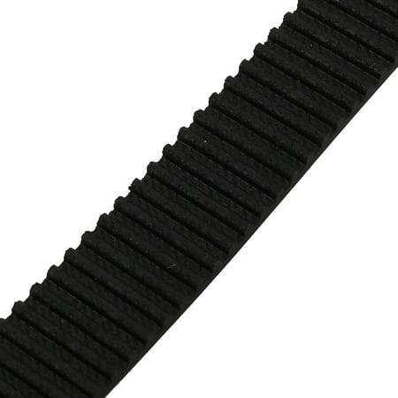 Unique Bargains HTD3M 200 Teeth Stepper Timing Belt Rubber Geared-Belt 600mm Perimeter 15mm Wide - image 1 of 2